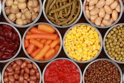 Многие люди не могут отличить свежую еду от консервированной