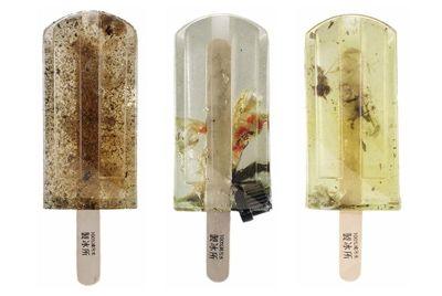 Мороженое, сделанное из загрязненной воды Тайваня