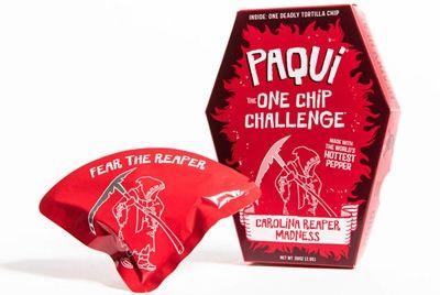 В Америке выпустили самые острые чипсы в мире