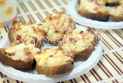 Бутерброды «Гавайские»