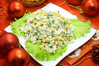Салат с курицей «Очарование»