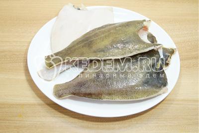 Рыбу хорошо очистить, удалить голову и внутренности, срезать плавники. Хорошо промыть и обсушить.