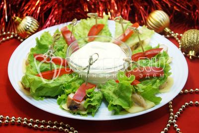 Закуска из курицы «Праздничная»