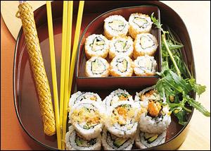 Калифорнийские роллы и другие псевдо суши