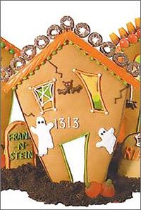 Выпечка на Halloween - Хэллоуин - дом с привидениями