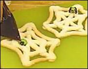 Приготовление выпечки - выпечка на Хэллоуин - Halloween: сладкая паутина Шаг 1