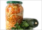 Консервированные салаты: заготовки на зиму