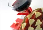 Украшение блюд: романтические нотки