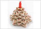 Съедобные украшения на новогодний стол