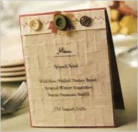 Красиво оформленное меню для новогоднего стола. Украшение новогоднего стола за два часа –  сервировка, оформление и украшение новогоднего стола быстро и красиво