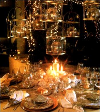 Миниатюрные лампочки - идеи о том, как встретить гостей, сделать красивое украшение новогоднего стола, устроить незабываемый Новый год