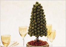 оливковое новогоднее дерево - новогодняя оливковая ёлка