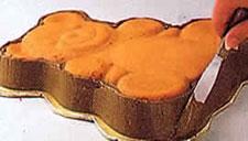 Украшение тортов - торт в форме медвежонка. Фото 1