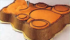 Украшение тортов - торт в форме медвежонка. Фото 2