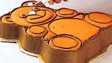 Украшение тортов - торт в форме медвежонка. Фото 3