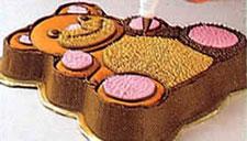 Украшение тортов - торт в форме медвежонка. Фото 4