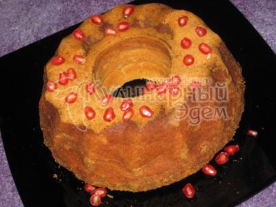 Готовим творожный кекс с лимоном