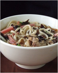 Лапша мифэнь, китайская кухня