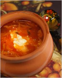 Украинская кухня, борщ