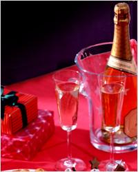 Новогодняя романтика — сервировка   новогоднего стола на двоих