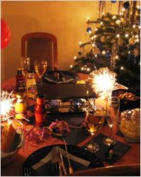 Как правило, в сочельник (в ночь перед Рождеством) на рождественский стол...