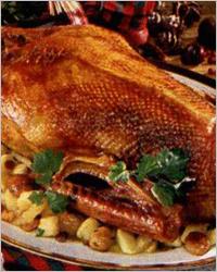 Главное блюдо - Рождественский гусь