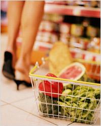 Поход в магазин за продуктами питания