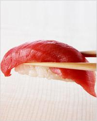 Как кушать суши