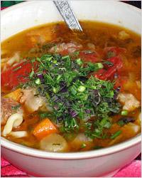 Лагман. Узбекская национальная кухня