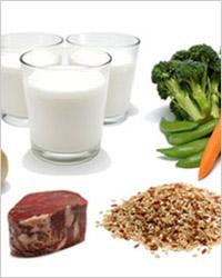 Продукты рекомендуемые при диете.
