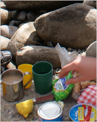 Чай, кофе в походе