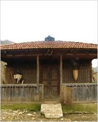 Вид на деревенскую семейную апацху