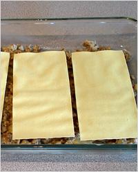 Приготовление лазаньи
