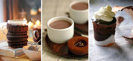 Сервировка стола в День Святого Валентина: Шоколадное счастье