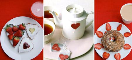 Сервировка стола в День Святого Валентина: Романтика утра