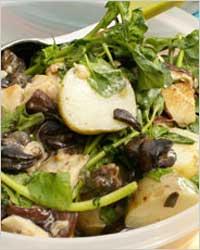 Устрицы и улитки: как правильно их есть. Улиточный салат.