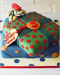 Торт на день рождения украшение