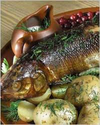 Рыба в карельском стиле – кулинарный рецепт