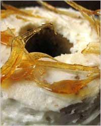 Украшение кондитерских изделий: карамель