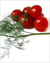 помидоры солёные
