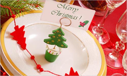 Сервировка новогоднего стола 2011