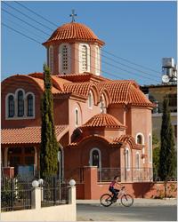 православная церковь в портовом районе Лимассола