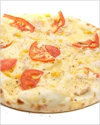 пицца с шампиньонами