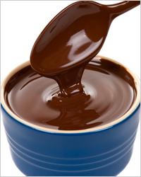 Шоколадное фондю для влюблённых