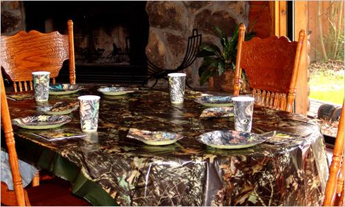 Сервировка стола к 23 февраля
