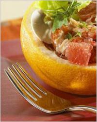 салатик с грейпфрутами