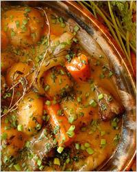Густой суп из баранины по-ирландски