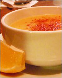 тарелка турецкого чечевичного супа