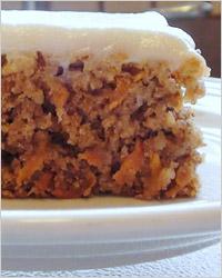 швейцарский морковный пирог