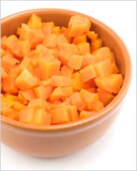 варёная морковь